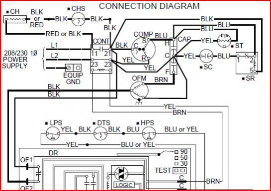 trane heat pump crankcase heater wiring diagram goodman heat pump air handler wiring diagram no aux #7