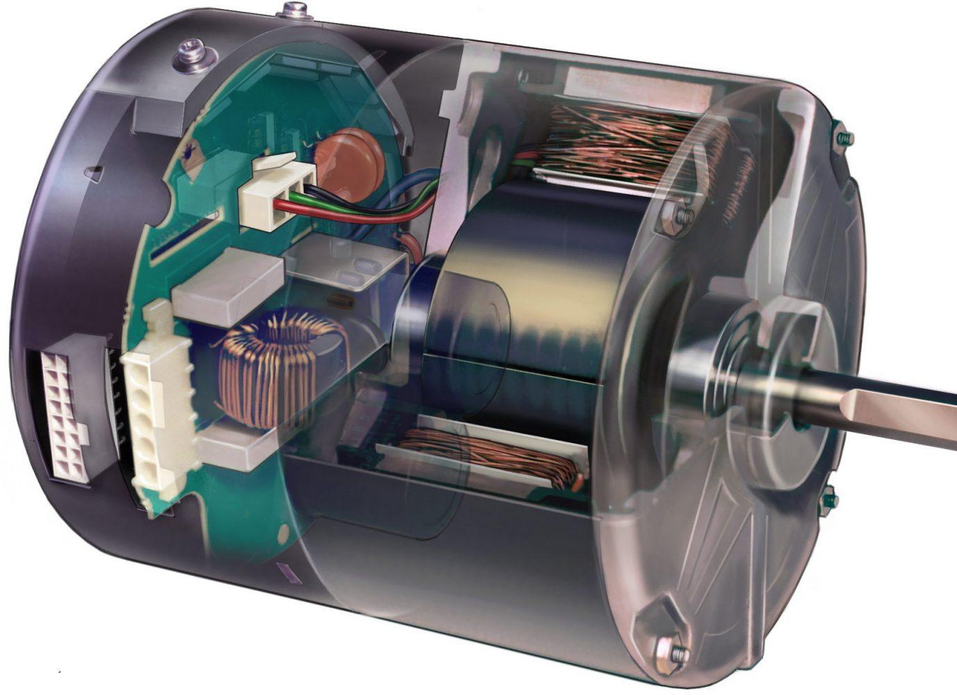 Ecm hvac school for Variable speed ecm motor