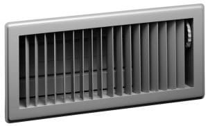 Size and Orientation of Return Grilles and Supply Registers