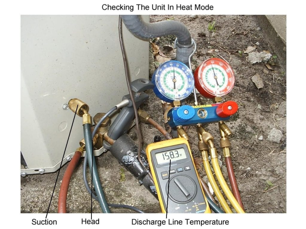 Checking the Charge on a Heat Pump in the Winter - HVAC School