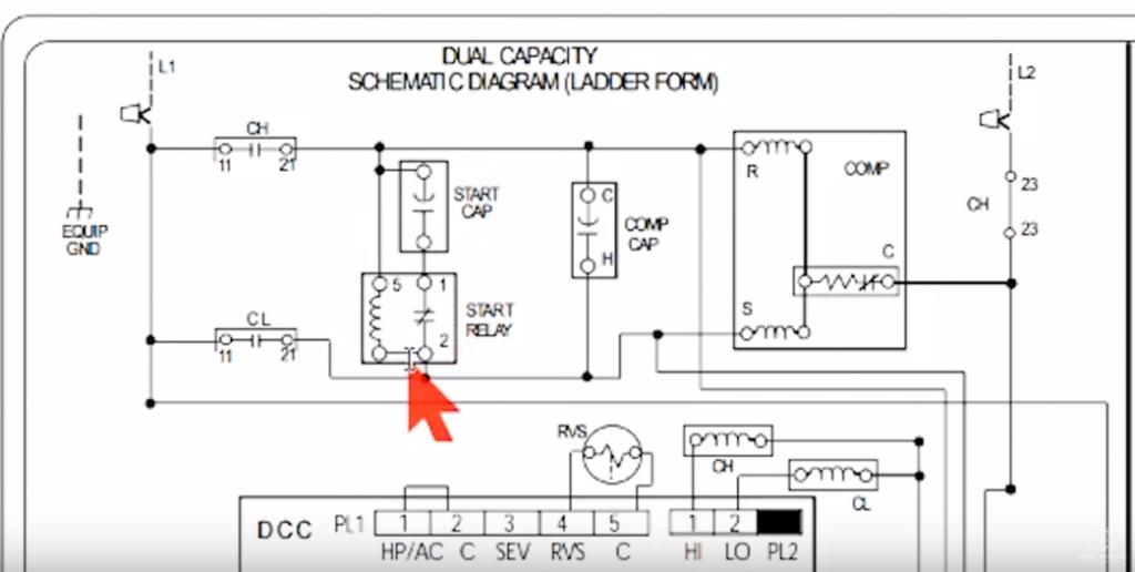 this ac compressor runs backwards on purpose