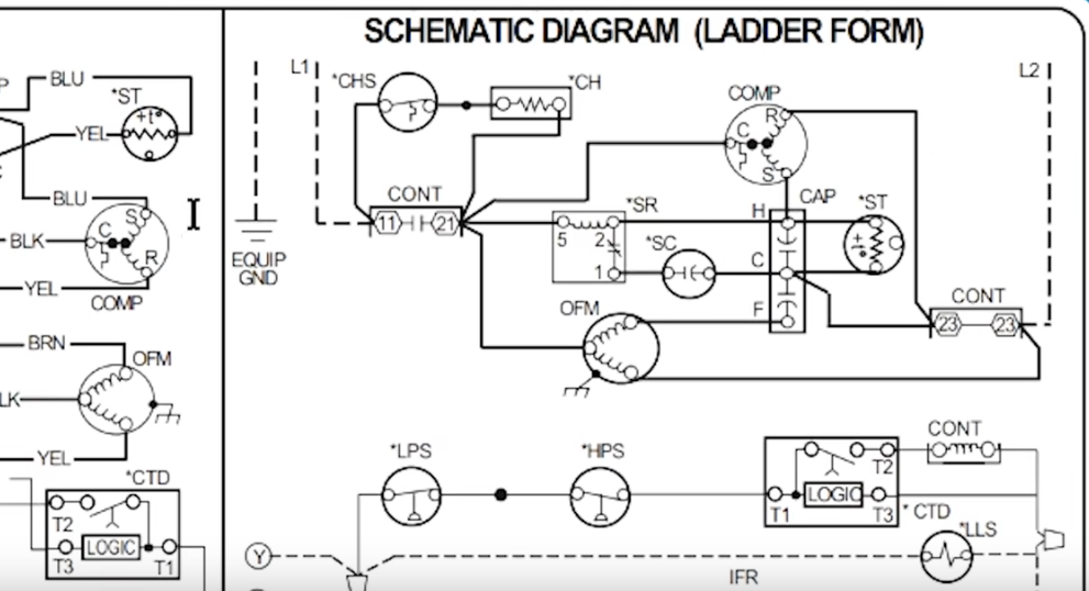 how to read ac schematics and diagrams basics hvac school Tabloid Paper Size