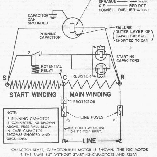 start capacitor archives hvac school wiring diagram for ac unit elegant