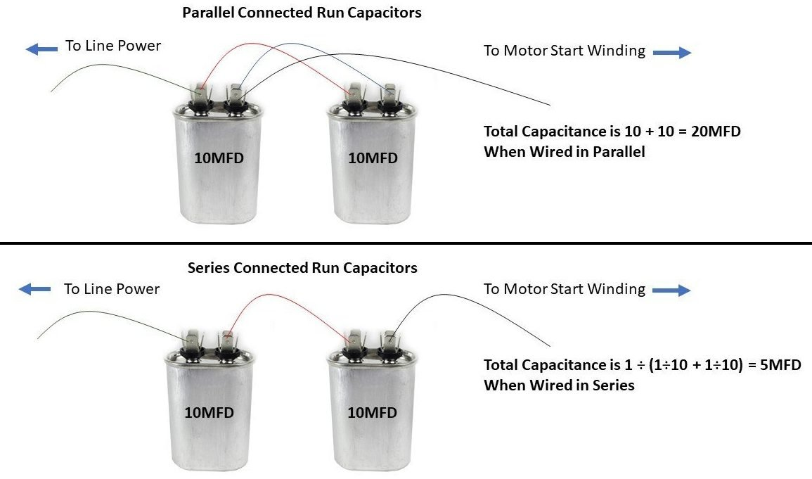 Wiring Capacitors In Parallel - Wiring Diagrams Dash