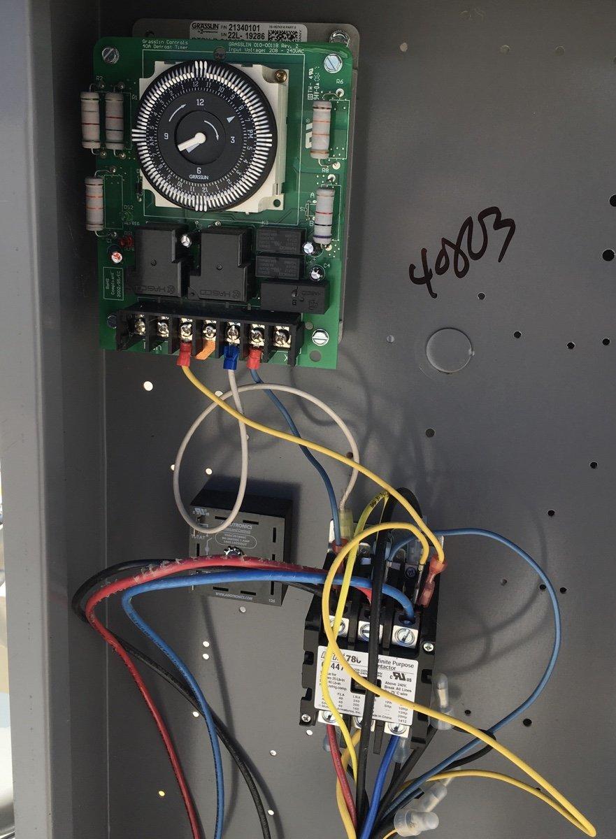 Walk-In Cooler Defrost - HVAC School | Hvac Defrost Wiring Connection Diagram |  | HVAC School