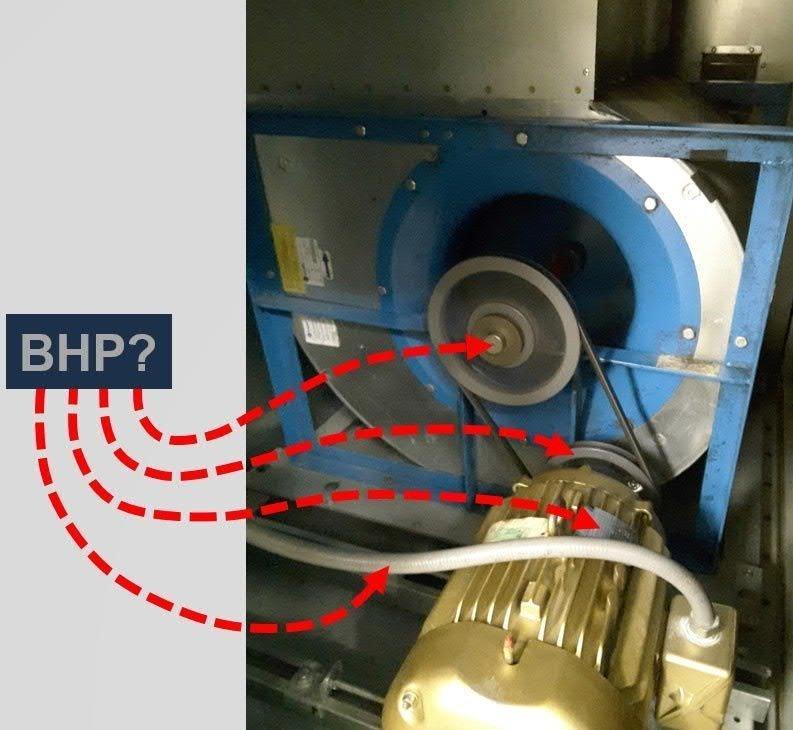 HP, Motor HP, BHP, Motor Watts