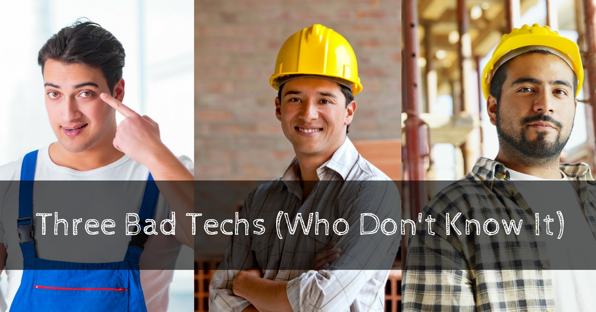 3 Bad Techs That Don't Know It