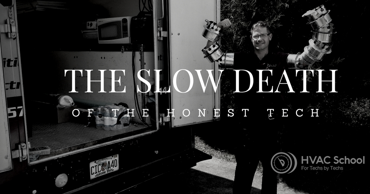 The Slow Death of the Honest Technician