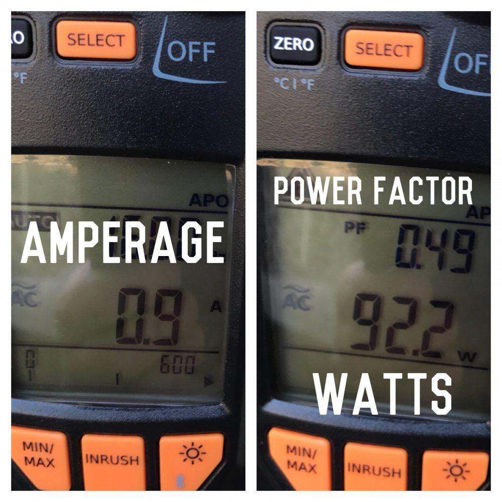 Does a Motor Draw More or Less at lower Voltage?