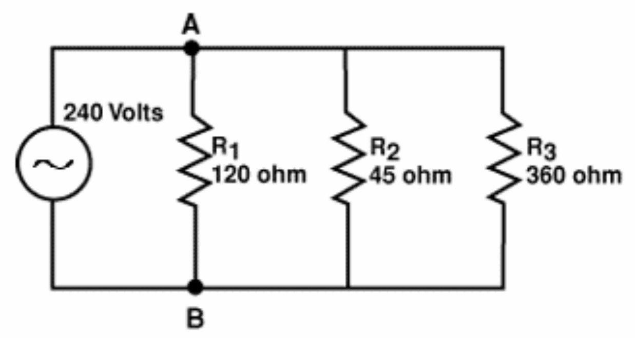 Parallel Circuit Resistance