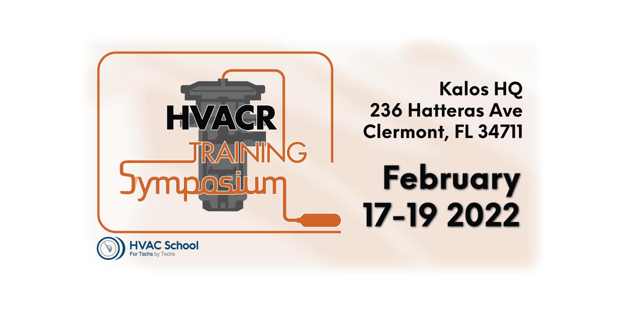 HVACR Training Symposium 2022